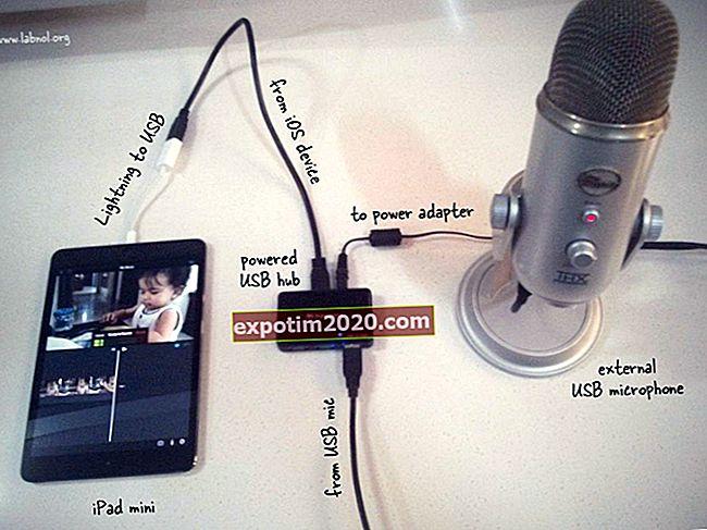 Come inserire il microfono esterno di un iPhone