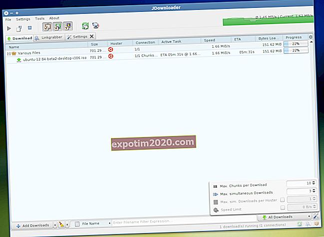 Come aprire file DLC con JDownloader