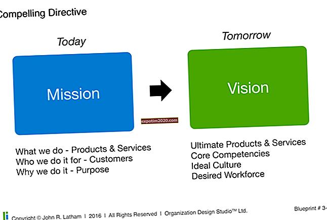 Quali sono gli obiettivi, le visioni e le dichiarazioni di missione di un'organizzazione?
