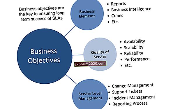 Definizione di obiettivi e obiettivi aziendali