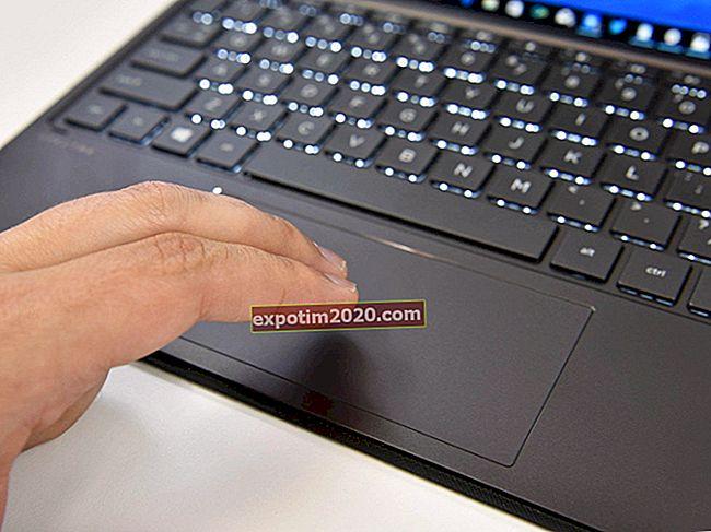 Come modificare le impostazioni del touchpad