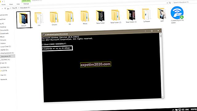 Modifica degli attributi nei file nascosti DOS