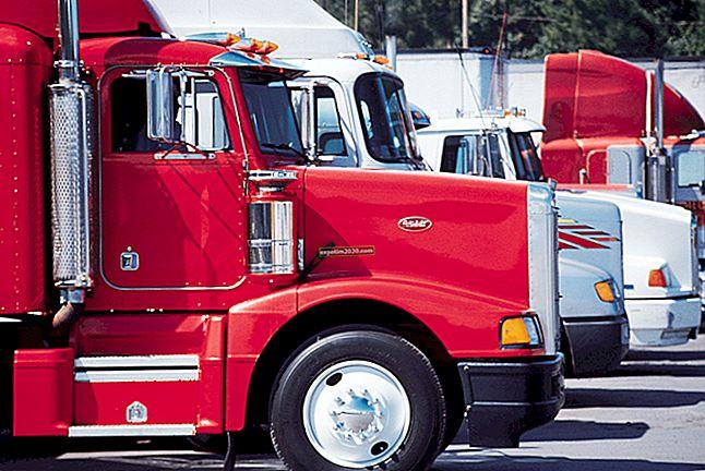 Sovvenzioni per i conducenti di camion per avviare un'attività in proprio