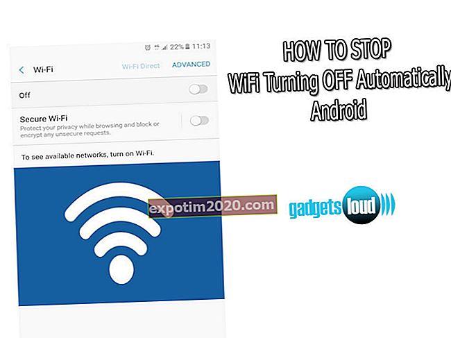Come impedire ad Android di spegnere il Wi-Fi