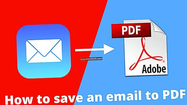 Come convertire Gmail in PDF